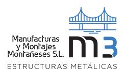 Manufacturas y Montajes Montañeses – Estructuras metálicas Logo